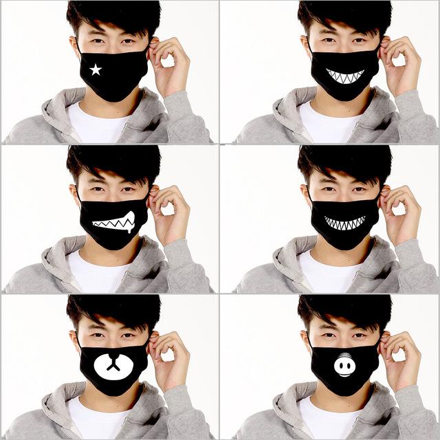 Ankoow-6Pcs-Unisex-Face-Mask-Anti-Dust-Black-Cotton-Cute-Bear-Teeth-Anti-Pollution-Mouth-Mask.jpg_640x640.jpg